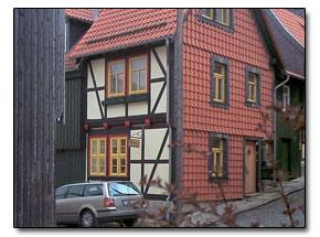 Ferienhaus ferienhaus fh ii timme in blankenburg for Pensionen im harz mit fruhstuck